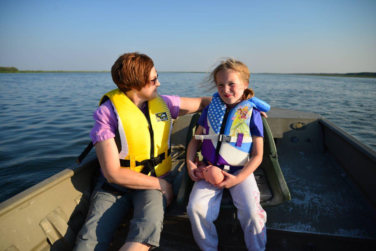 Karissa Warkentin pictured with her daughter Karalynn.