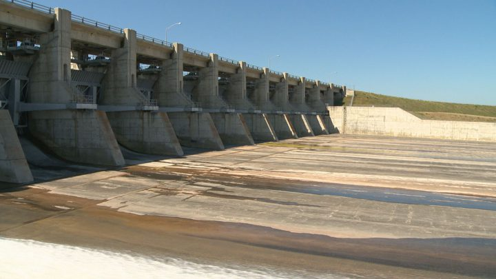 Gardiner Dam, pictured, was finished 50 years ago. Ralph Goodale says the reservoir it created, Lake Diefenbaker, has untapped potential to help irrigate a large part of the province.