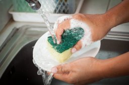 Continue reading: How often you should wash dish sponges and 9 of these other kitchen items
