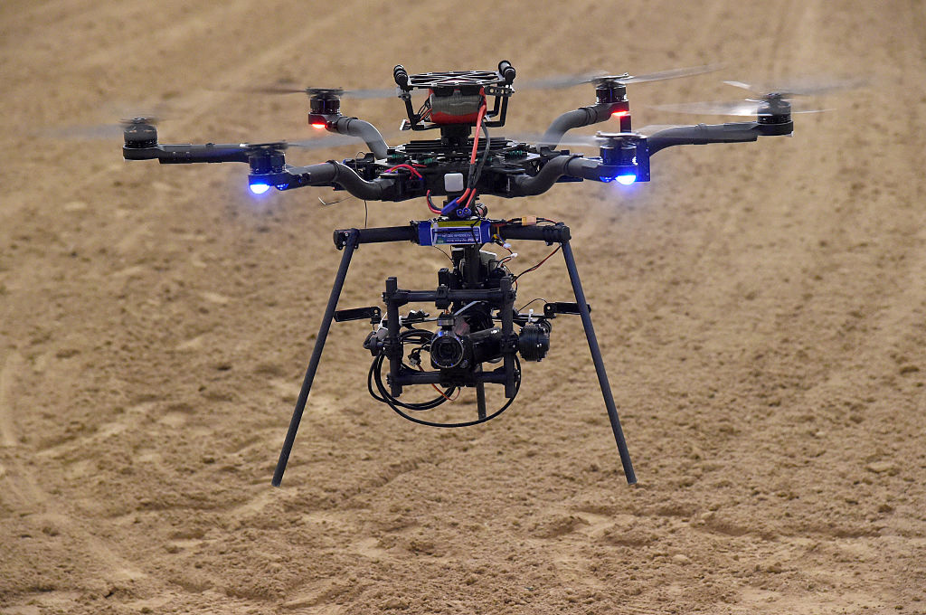 A Freefly Alta 6 drone is seen in this file image.