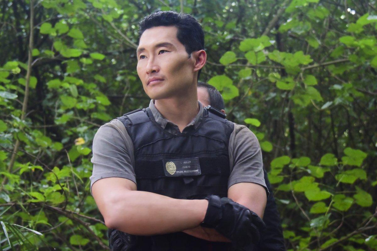 Pictured: Daniel Dae Kim as Chin Ho Kelly.