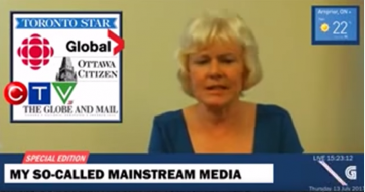 Conservative MP Cheryl Gallant criticized the Liberal government's settlement with Omar Khadr in a Facebook Live video.