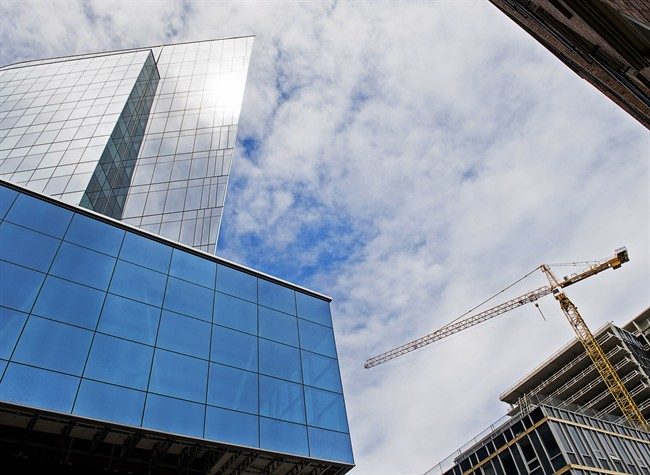 The Nova Centre, a mixed-use commercial development under construction in downtown Halifax, is seen on Monday, May 15, 2017.