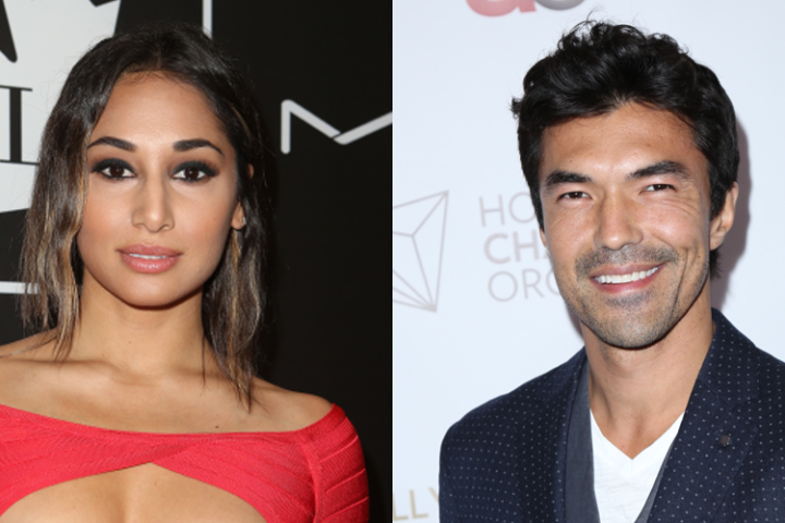 (L-R) Meaghan Rath and Ian Anthony Dale.