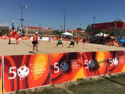 Continue reading: Spectators feeling the heat at Canada Summer Games