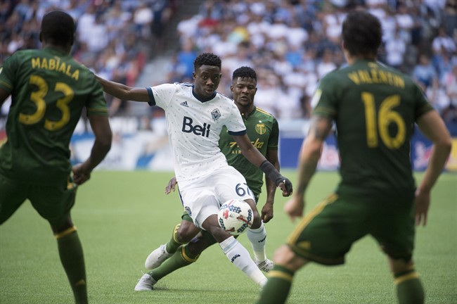 Portland Timbers with 2-1 defeat over The Vancouver Whitecaps.