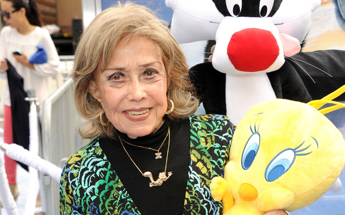 "Voice actress June Foray attends the Premiere of Warner Bros. Pictures' ""Happy Feet Two"" at Grauman's Chinese Theatre on November 13, 2011 in Hollywood, California."