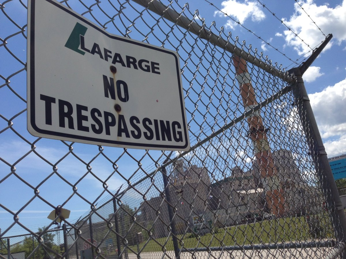 The LaFarge plant in Brookfiel, N.S., is now allowed to burn 20 tonnes of tires.