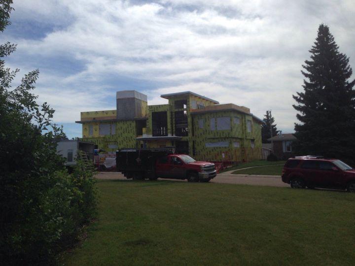 File photo of an infill development in Edmonton's Malmo Plains neighbourhood.