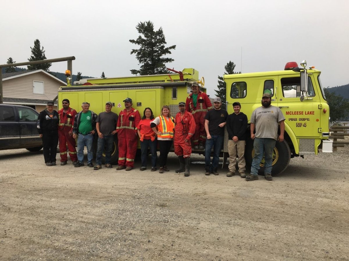 The McLeese Volunteer Fire Department serves a small community of about 150 just north of Williams Lake.