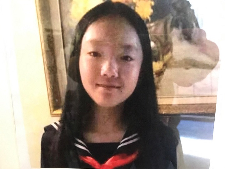 Burnaby RCMP show the photo of 13-year-old Marrisa Shen. Her body was found July 19, 2017.