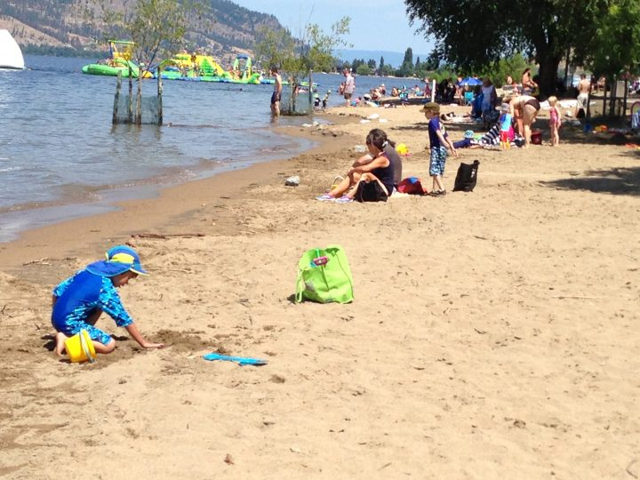Kelowna RCMP say it will be increasing patrols in 'hot tourist areas' in the summer.