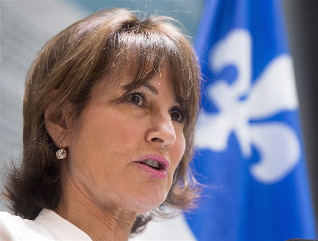 File picture of Quebec Immigration, Diversity and Inclusiveness Minister Kathleen Weil.
