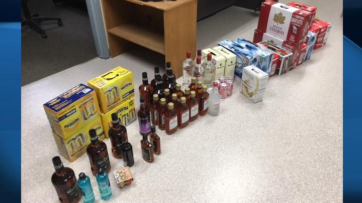 Police seize over $8,000 in alcohol destined for resale in northern Saskatchewan.
