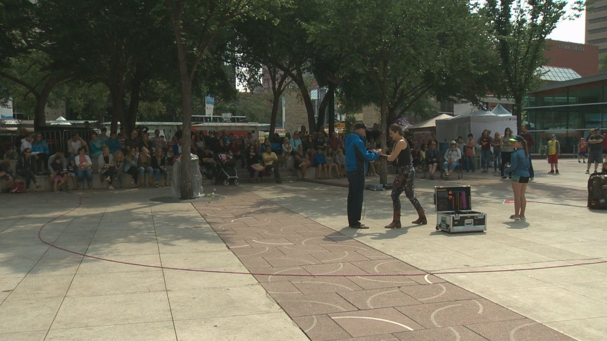 Over 225,000 people took in the 2017 edition of the Edmonton International Street Performers Festival delighting crowds over its 10-day run.