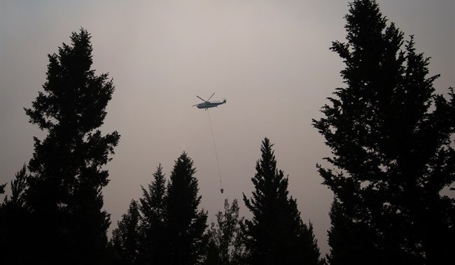 Entire city of Merritt, B.C., on evacuation alert due to wildfire