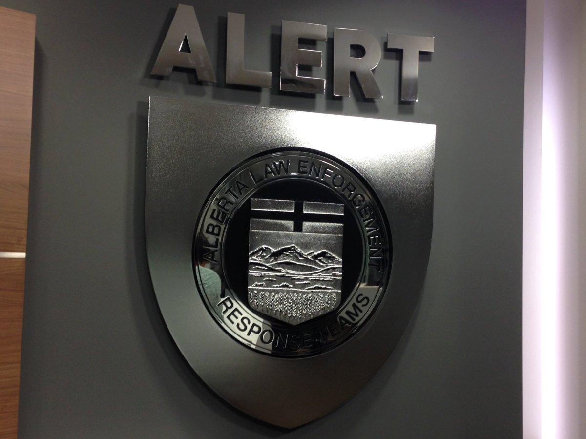ALERT (Alberta Law Enforcement Response Team).