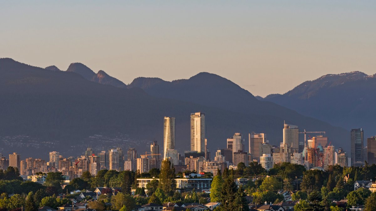 Scenic view of Vancouver, B.C. on Tuesday, June 27, 2017.