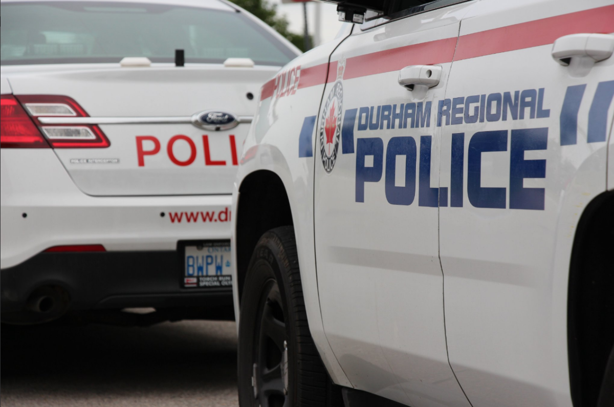 Durham Regional Police say a 48-year-old Pickering man has been charged with two counts of fraud under $5,000.
