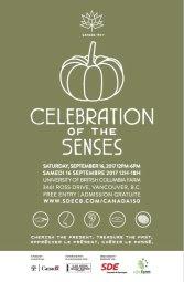 Continue reading: Canada 150: Celebration of the Senses – UBC Farm, Vancouver
