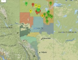 Continue reading: Cluster of out-of-control wildfires burning in northern Alberta