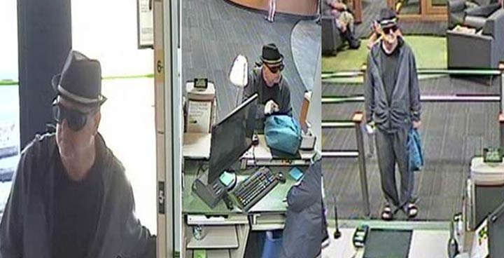 Saskatoon police release surveillance photos in an attempt to identify the person responsible for a bank robbery.