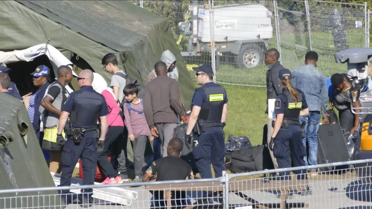 The number of asylum seekers entering Canada from the near the Lacolle border crossing continues to rise, but many organizations say more resources will be needed to assist them, Monday, August 15, 2017.