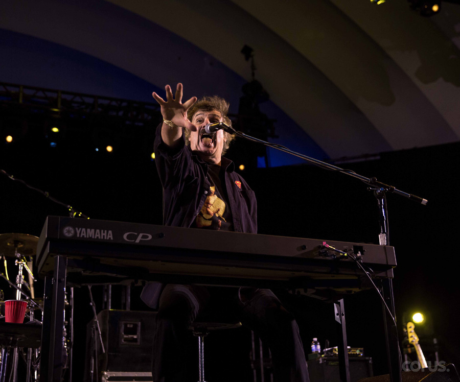 Canadian rock legend Burton Cummings performs live at the Canadian National Exhibition on Aug. 18, 2017.