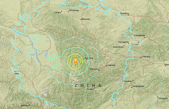 A preliminary 6.5 magnitude earthquake has shaken a mountainous region in western China near a famous national park on August 8, 2017, according to the U.S. Geological Survey.