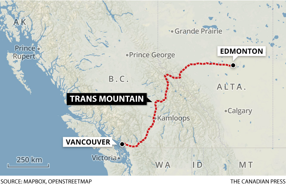 About one-third of the Trans Mountain pipeline will traverse Simpcw territory.