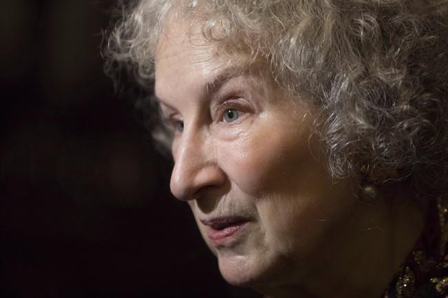 Author Margaret Atwood arrives at the Toronto Film Critics Association Awards, Jan. 10, 2017.