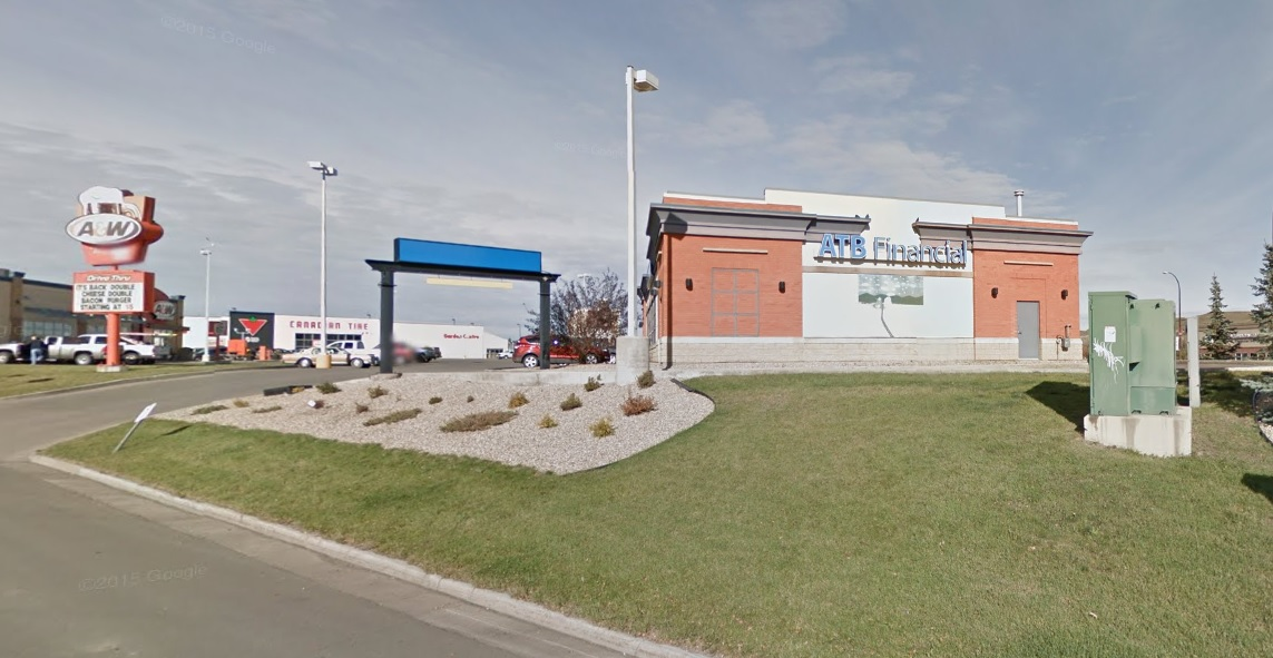 The ATB Financial in Drumheller, Alta.