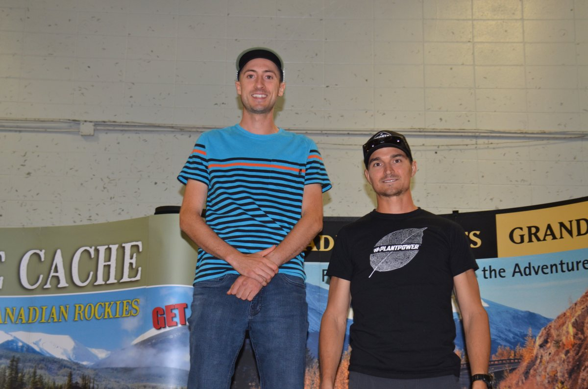 Grande Prairie runners, Brandon Miller and Doug Howson, finished first and third this past long weekend at the 2017 Canadian Death Race in Grande Cache, Alta.