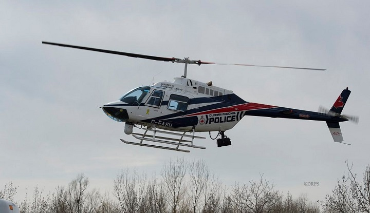 A Bowmanville teen has been charged after allegedly pointing a laser at a police helicopter.