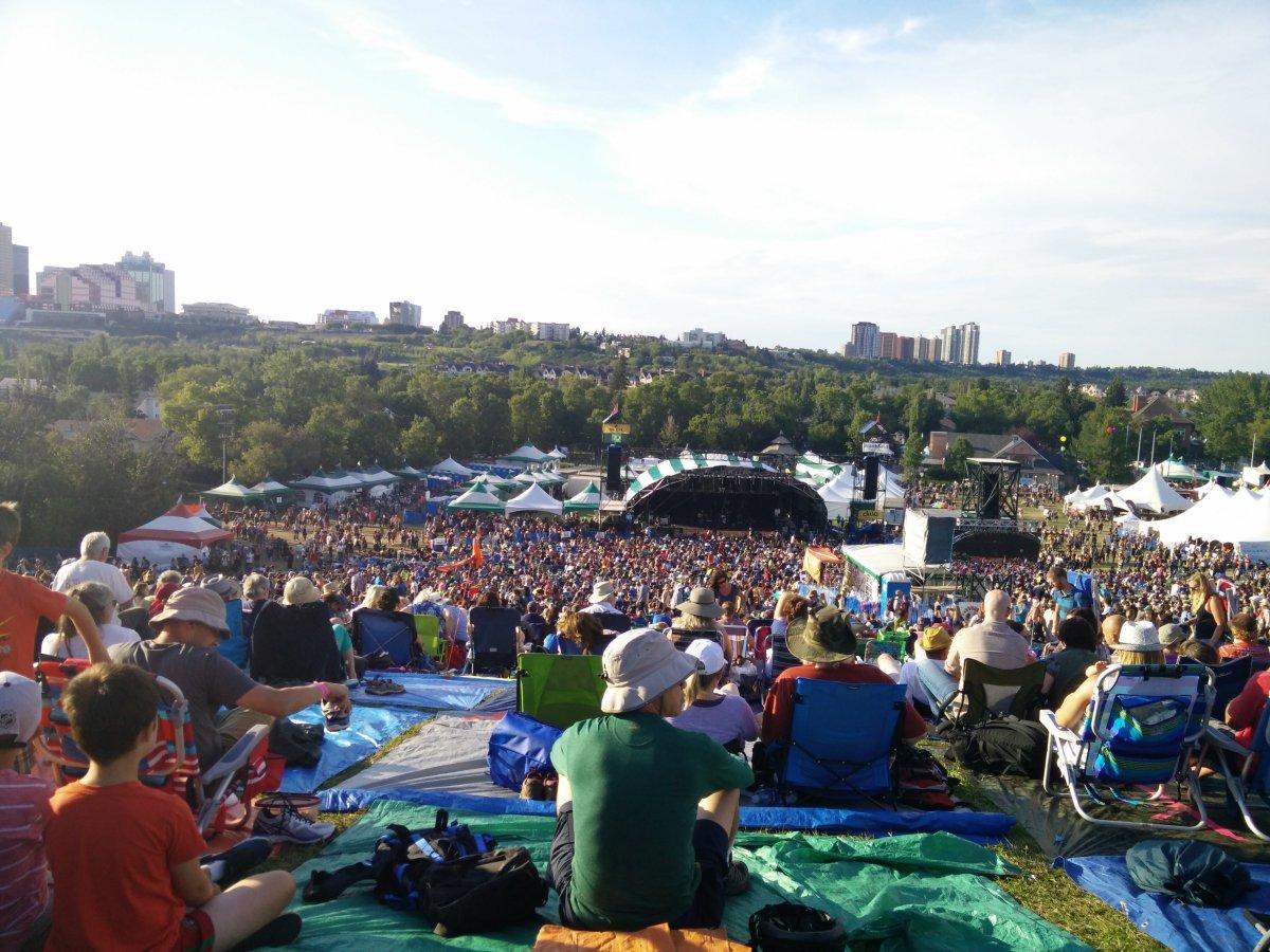 The Edmonton Folk Music Festival on Sunday, August 7, 2016.