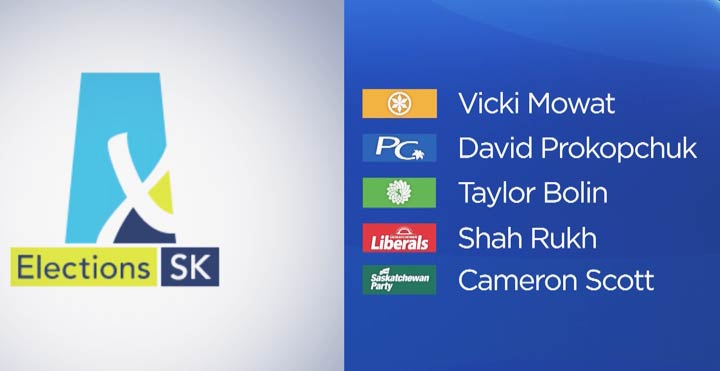The candidate slate is set for the upcoming provincial byelection in Saskatoon Fairview.