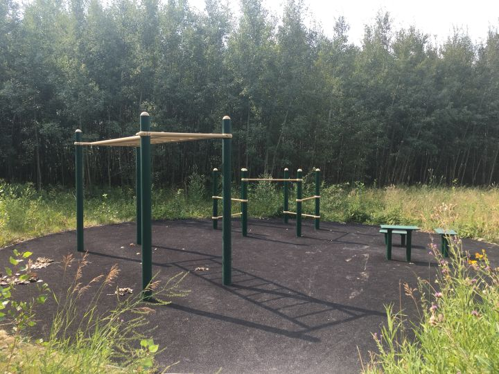 The Gateway Fitness Park in south Edmonton.