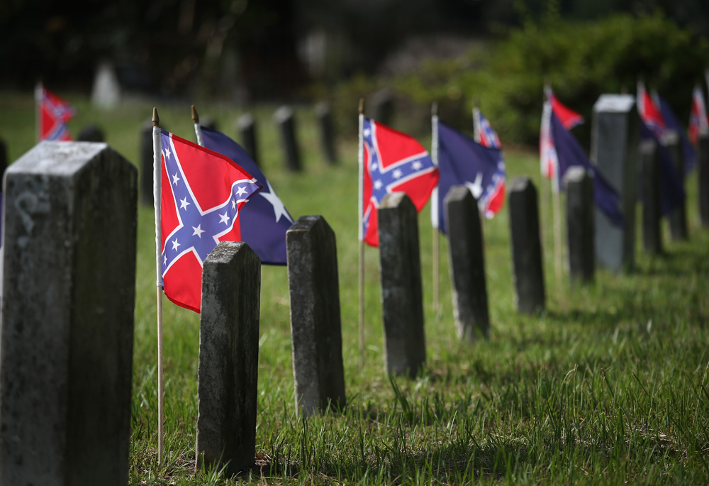 Confederates slumber undisturbed in their graves, a state of affairs that's likely to continue, contrary to reports from dubious sources.