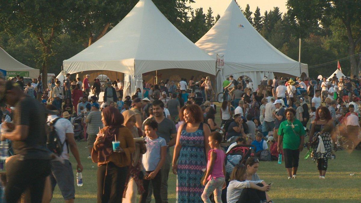 Edmonton Heritage Festival on Aug. 6, 2017.