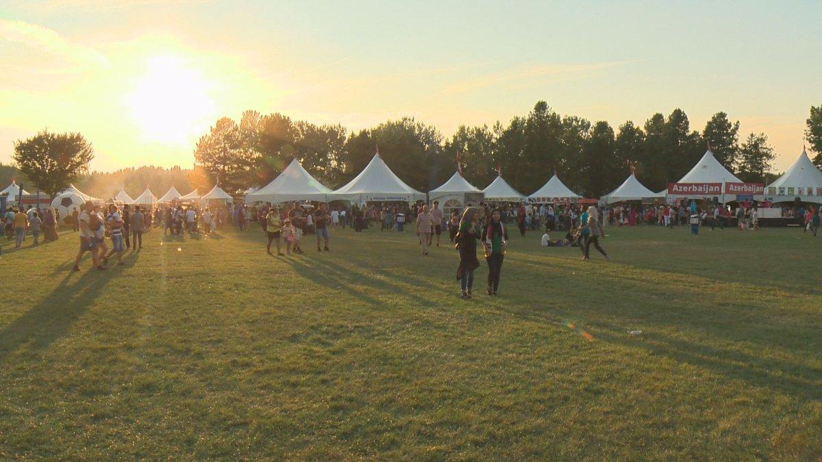 Heritage Festival in Edmonton's Hawrelak Park on Sunday, Aug. 6, 2017.