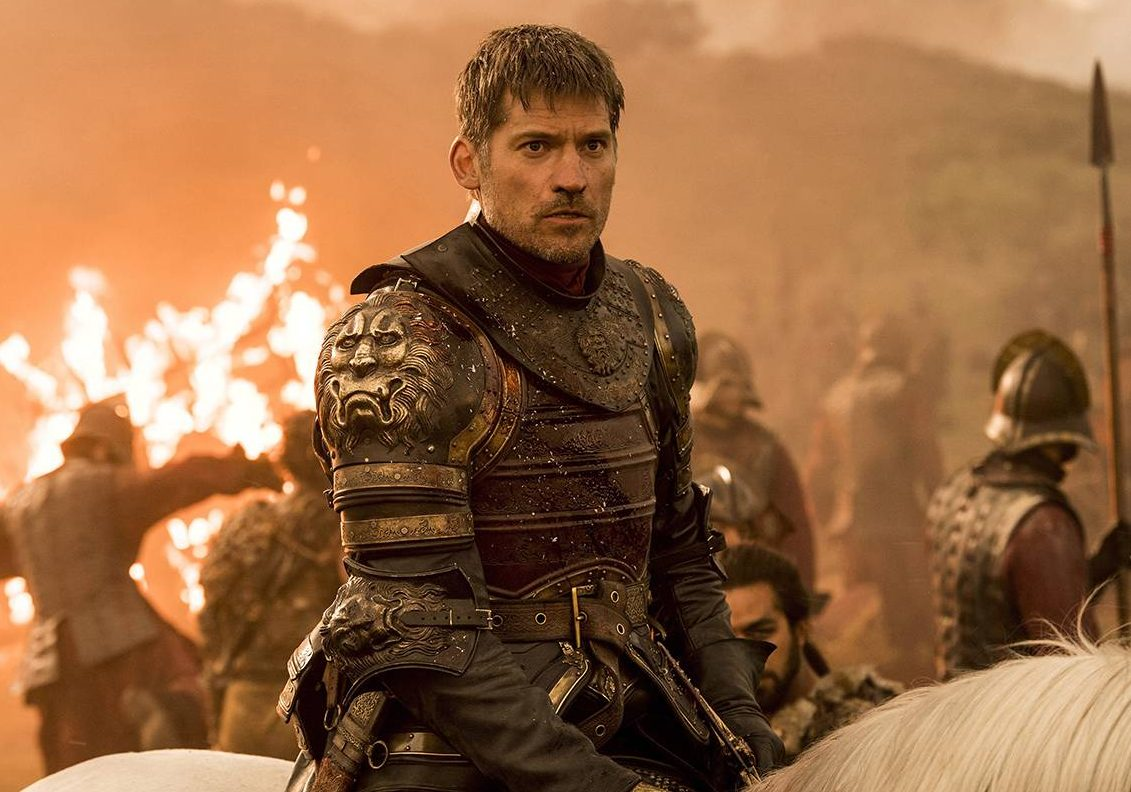"This image released by HBO shows Nikolaj Coster-Waldau as Jaime Lannister in an episode of ""Game of Thrones,"" which aired Sunday, Aug. 7."