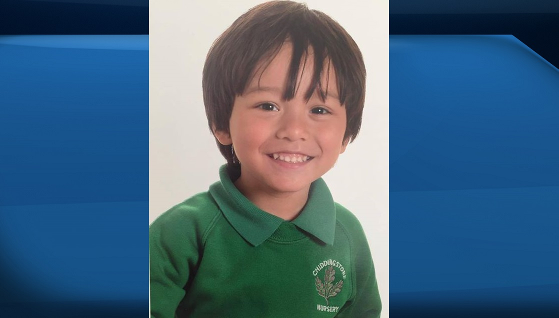 Julien Cadman, 7, was missing after the terror attack in Barcelona on Thursday.