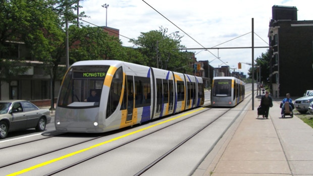 Hamilton's billion-dollar proposed LRT is expected to feature 17 stops across 14 km.