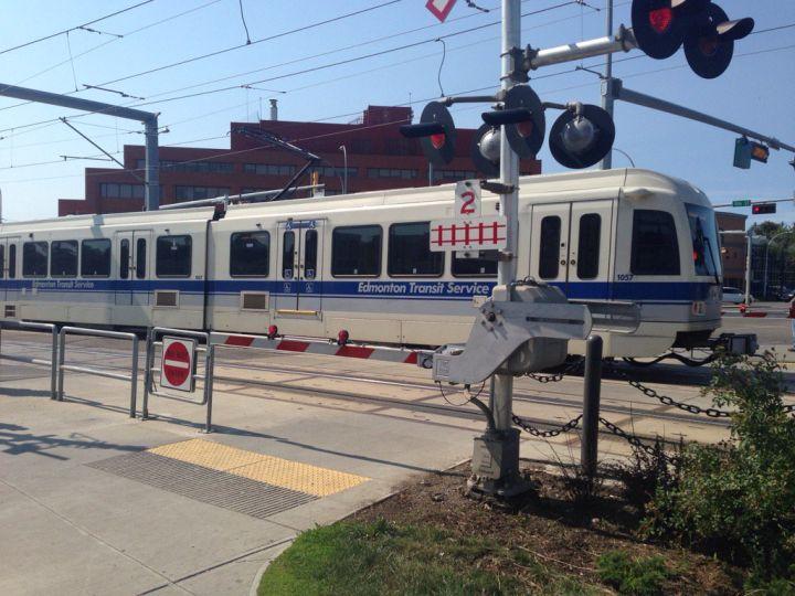 Edmonton's Metro Line LRT on Tuesday, Aug. 15, 2017.