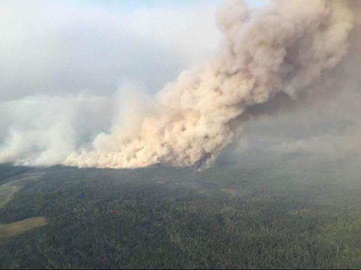 There are currently more than 30 wildfires burning in Saskatchewan, with three burning near the community of Pelican Narrows, prompting evacuations.