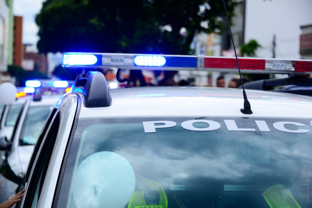 A Peterborough man is accused of brandishing a machete and striking a vehicle and threatening people.