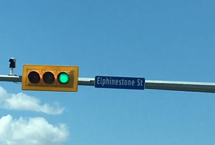 The spelling mistake was posted on the City of Regina's Facebook page bringing to attention that they had spelt Elphinstone Street 'Elphinestone St.' (adding an extra 'E') at the intersection of Elphinstone Street and Avonhurst Drive.
