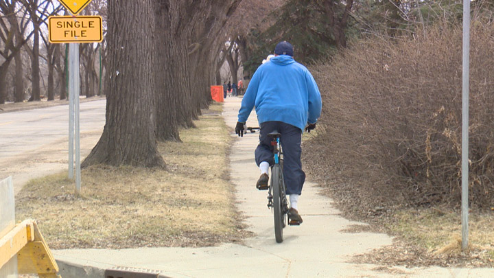 Saskatoon Cycles wants the city's bike bylaw changed to allowing cycling on some city sidewalks.