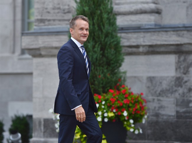 A group of Canadian veterans is expected on Parliament Hill on Thursday to protest what they call unfair treatment at the hands of the federal government, including Minister of Veterans Affairs Seamus O'Regan (pictured).