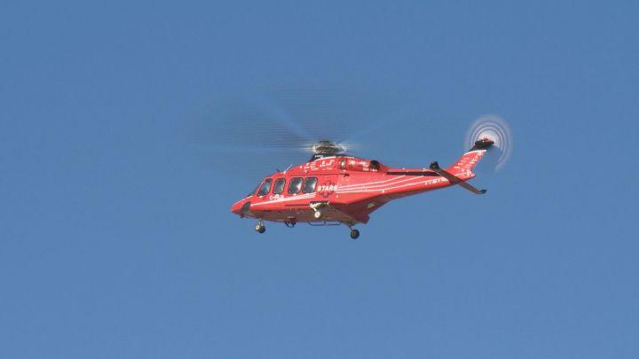 A file photo of a STARS Air Ambulance.